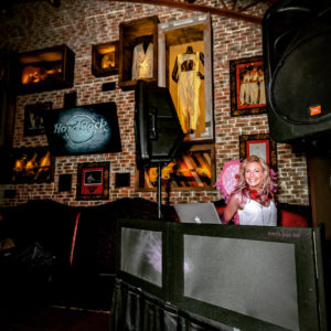 DJ Michelle Lee at Hard Rock Cafe