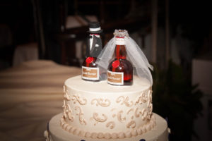Grand Mariner Wedding Cake Toppers