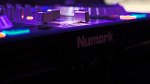 Numark mixer at the FUGE