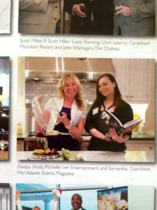 Michelle Lee in Mid Atlantic Events Magazine