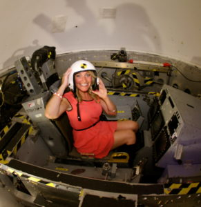 DeeJayShelly in the CenterFuge Taking Off