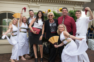 Michelle Lee Entertainment provides Greek Greeters for Mid Atlantic Events Magazine