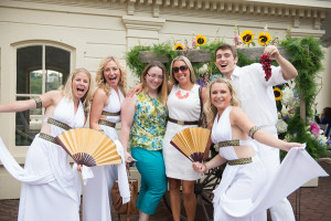 Michelle Lee Entertainment provides greeters