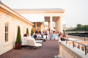 Michelle Lee hosts Opa at Water Works