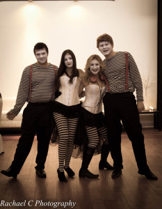 Group of Mimes