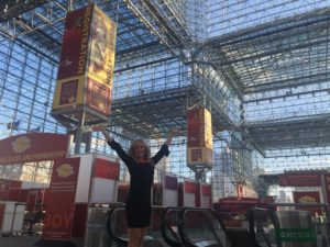 Michelle Lee at the Javits Center