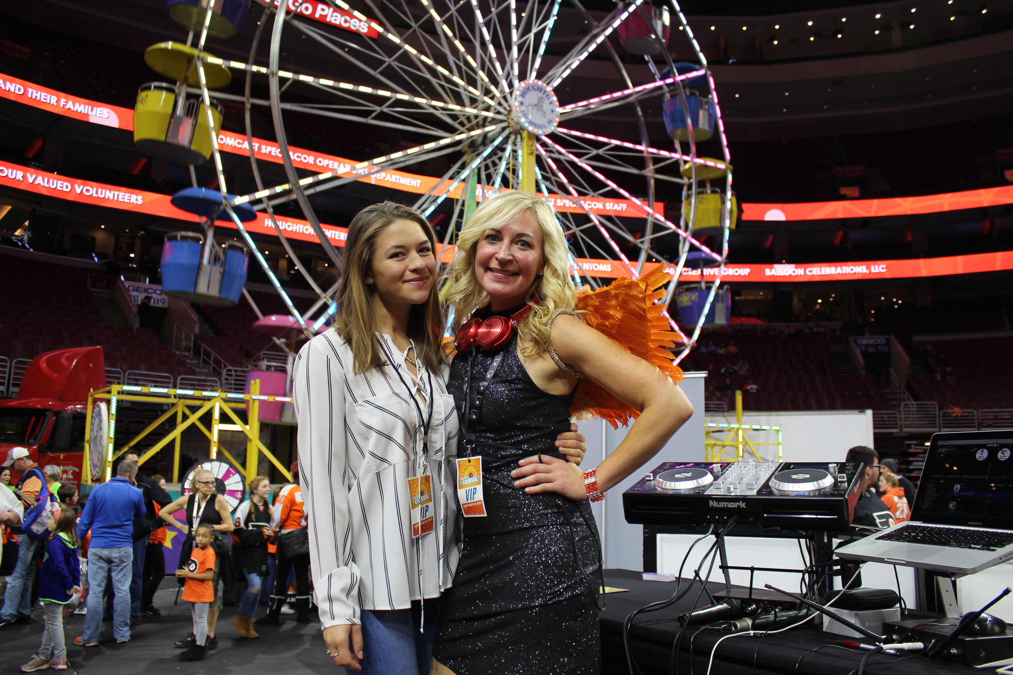 flyers wives carnival michelle lee entertainment